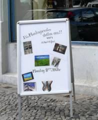 Ausstellung der Montagsmaler im Mieterclub