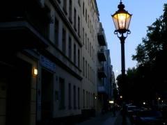 Mond über der Danckelmannstraße 20.09.2007