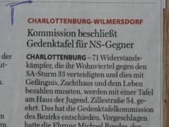 Quelle - Ausschnitt aus der Berliner Morgenpost vom 02.03.2011