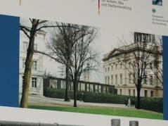 Bauplanung mit dem neuen Verbindungsbau zwischen Stülerbau und Kommandantenhaus