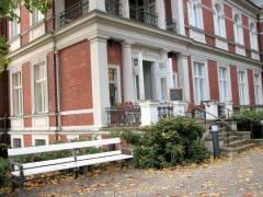Museumscafé in der Villa Oppenheim