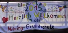 Schule im Kiez - 1. Schultag in der Nehring-Grundschule 2015