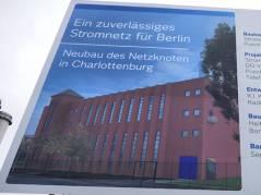 Neubau des 110-kV-Netzknotens Charlottenburg