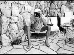 Helmut Newton 1993 / Foto © Jean Pigozzi