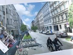 """Werbeaktion für das Projekt """"Neue Mobilität Berlin"""""""