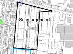 Kolonie Oeynhausen und andere / Karte © Vermessungsamt Charlottenburg-Wilmersdorf