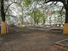 Olivaer Platz im April 2018