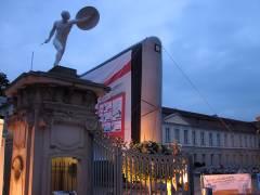 <span>Foto vom &quot;Kino Open Air&quot; 2008 vor dem Schlo&szlig; Charlottenburg</span>