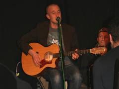 Steve aus England, Gerd (von li. nach rechts) - Open Stage 28.11.2008