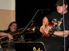 Ludger Singer und natürlich Icke (von li. nach rechts) - Open Stage 28.11.2008