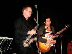 Rainer Theobald, Rodrigo Adaro (von li. nach rechts) - Open Stage 28.11.2008