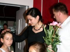 Open Stage im Eiscafé Fedora - Sonia Rodet von der Ecole de danse mit Schülerinnen
