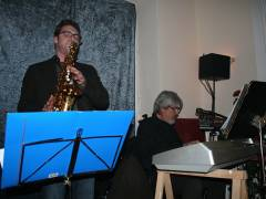 Open Stage im Gasthaus Gottlieb - das Latin Jazz Duo