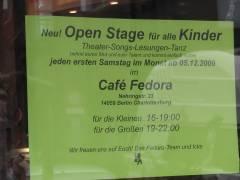 Open Stage - auch für alle Kinder