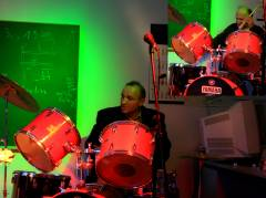 Two Drummers drumming - Cevdet und maho
