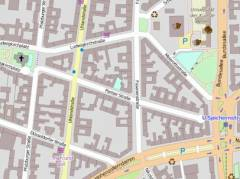 "Kartenausschnitt von Openstreetmap / ""© OpenStreetMap-Mitwirkende"" - verfügbar unter der Open-Database-Lizenz"