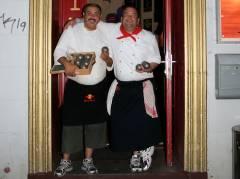 Berliner Boule-Meister 2009 - Nebo und Jörg von der Oro-Bar