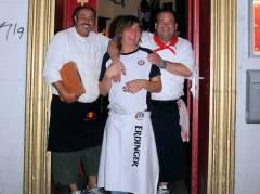 Berliner Boule-Meister 2009 - Das Team von der Oro-Bar