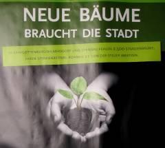 Plakat in der Nehringstraße 8