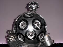 Zeiss-Projektor im Planetarium am Insulaner