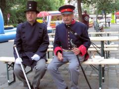 Polizeifest - Polizei vergangener Jahre