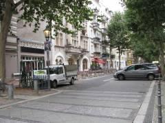 Neue Poller in der Danckelmannstraße......