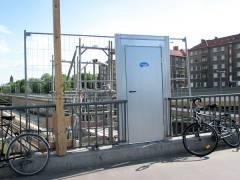 Eine neue Tür auf der Spandauer-Damm-Brücke