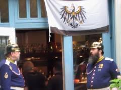 Treffen preußischer Veteranen - oder wird das Comeback geplant?