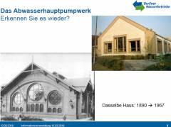 Abwasserpumpwerk Charlottenburg (1890 - 1967) - Ausschnitt aus der Präsentation vom 13.03.2018 / © Berliner Wasserbetriebe