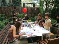 Kinder malen ...