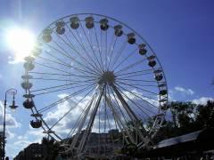 Riesenrad am Klausenerplatz (Juni 2005)