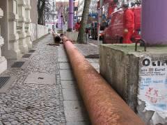 Rohre zur Grundwasserabsenkung