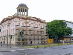 Sanierungsarbeiten am westlichen Stülerbau und am Erweiterungsbau (Museum Berggruen)