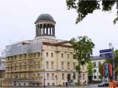 Sanierungsarbeiten am östlichen Stülerbau (Sammlung Scharf-Gerstenberg)