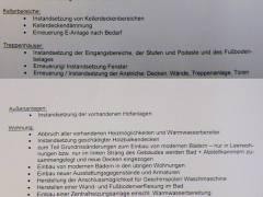 Überblick über die vorgesehenen Arbeiten - laut Informationsschreiben der GEWOBAG  an die Mieter der Sophie-Charlotten-Str. 83
