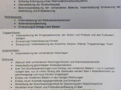 Überblick über die vorgesehenen Arbeiten - laut Informationsschreiben der GEWOBAG  an die Mieter der Sophie-Charlotten-Str. 84a