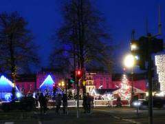 Weihnachtsmarkt vor dem Schlo&szlig; Charlottenburg  2007