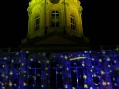 Schloß Charlottenburg illuminiert - Oktober 2007