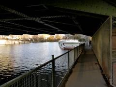 Unter der Schloßbrücke Charlottenburg