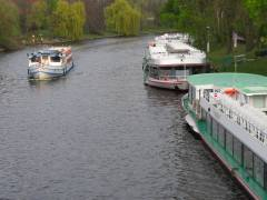 Schiff-Anlegestelle Schloßbrücke