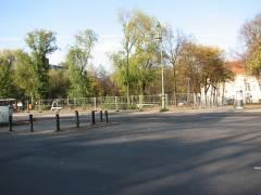 Baustelle am Schloßpark (Spandauer Damm)