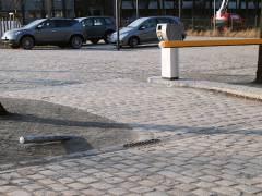 (Kostenpflichtiger) Parkplatz am Schloßpark - 13.02.2008