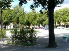Neuer Parkplatz am Schloßpark