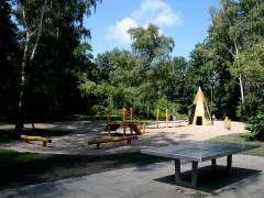 Spielplatz im Schloßpark - Juli 2008