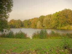 Herbst 2011 im Schloßpark (HDR-Foto mit Tonemapping)