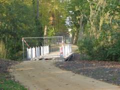Bau einer neuen Brücke (Stand vom 17.Oktober 2011)