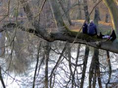 Rast mit bester Aussicht im Schloßpark Charlottenburg