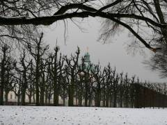 Schlo&szlig;park Charlottenburg - Januar 2013