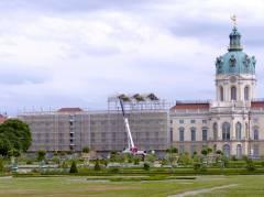 Sanierungsarbeiten am Schloß Charlottenburg