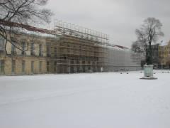 Sanierungsarbeiten am Schloß Charlottenburg - März 2013